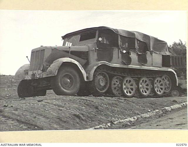 LIBYA. 1941-12. A CAPTURED GERMAN VEHICLE in use by the British (Small).jpg
