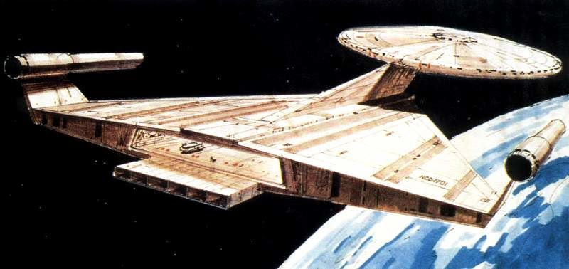 Star Trek Planet of the Titans Ralph McQuarrie USS Enterprise concept.jpg