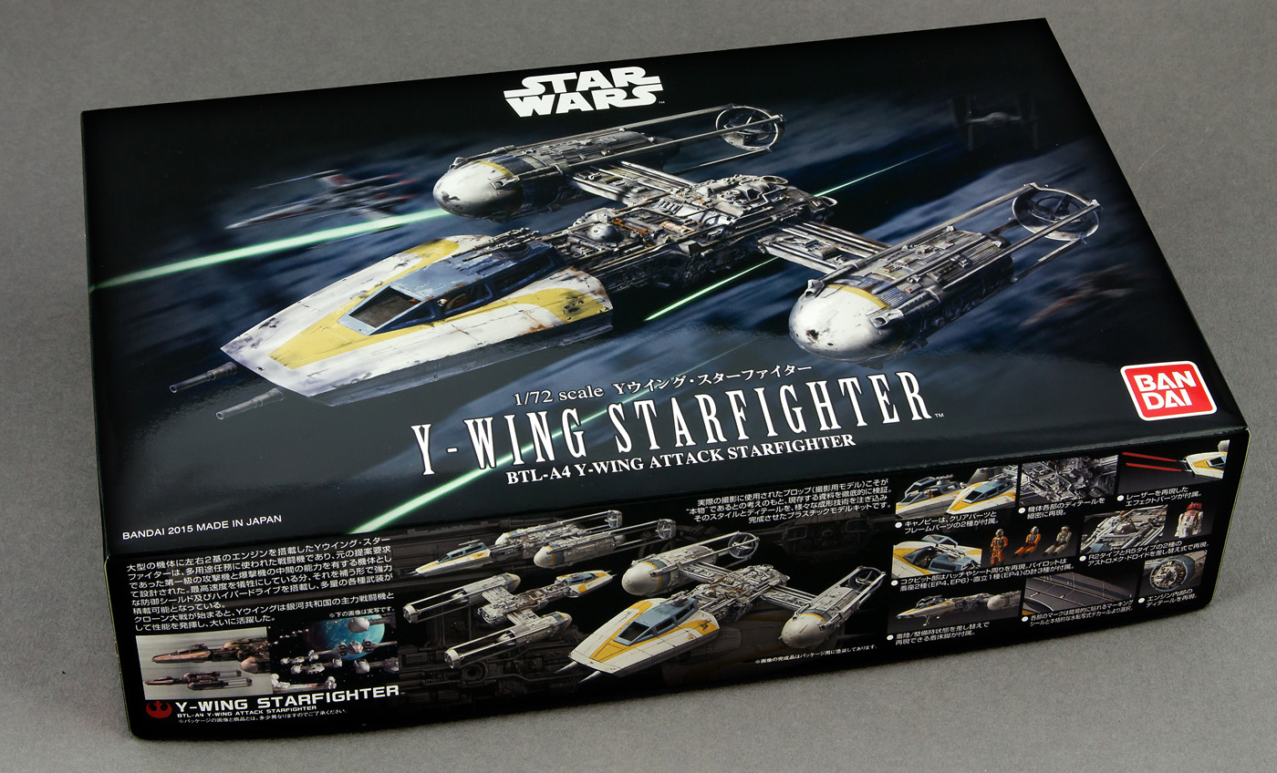 Bandai Y Wing Fighter 72nd scale  review -  pic 05.jpg