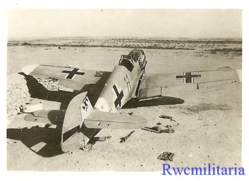 Bf-109 Fighter Plane in Desert.jpg