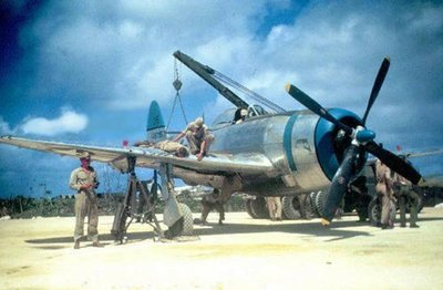This P-47N-1-RE served with the 318th Fighter Group operating out of le Shima.jpg