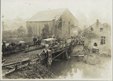 A1 Bridge over the river Selle, World War 1, Battle of the Selle.JPG