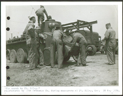 Christie Armored Car maintenance Ft Riley 6x8 1934.jpg