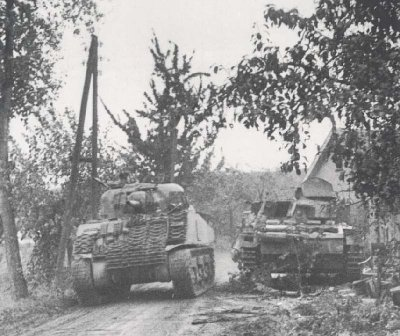 The very small road that was used by the british tanks in Market Graden operation, WWII..jpg