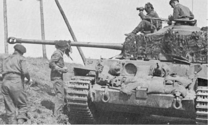 British army Comet, the first british tank that was able to try an equal fight with the german tanks like panthers and tigers. WWII.jpg