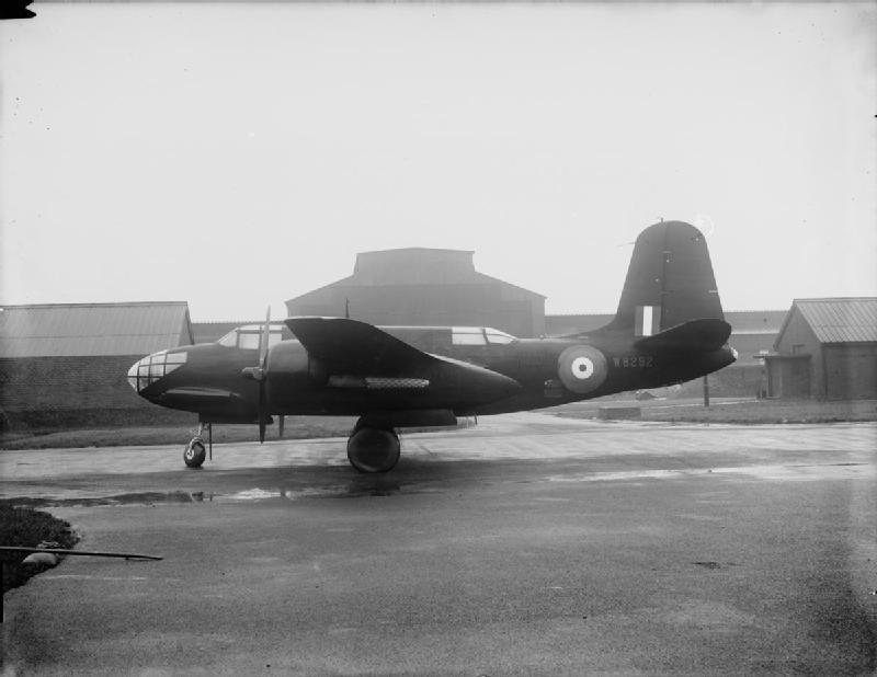 Boston Mark III (Intruder), W8292, at the Burtonwood Repair Depot.jpg