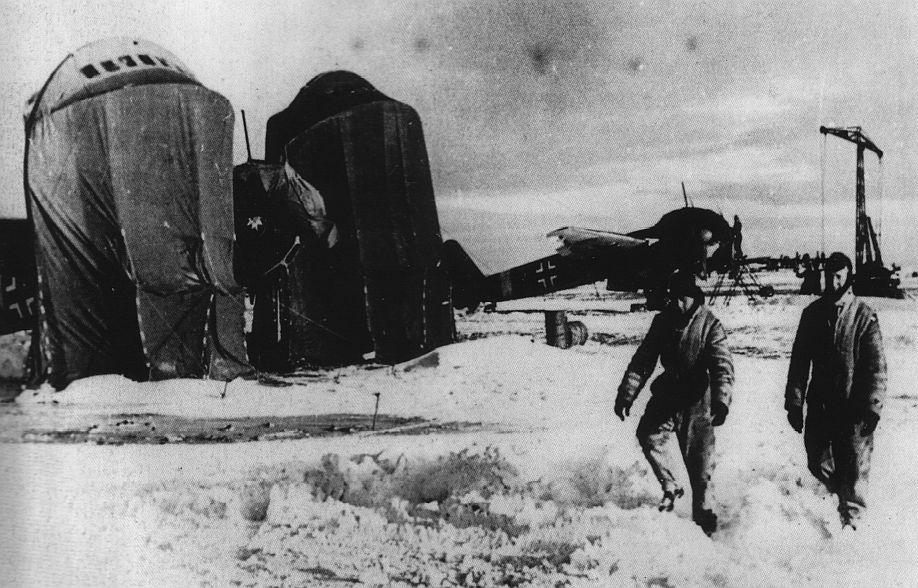Ju 88 prepared for takeoff - Eastern Front 1944.jpg