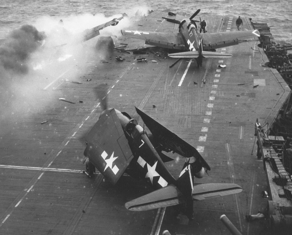 F6F-5N_VFN-53 on the deck of the USS Saratoga_21-2-45.jpg