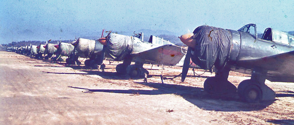 Ki-51 aircraft at Gimpo Airfield, Seoul, Korea, 20 Oct 1945.jpg