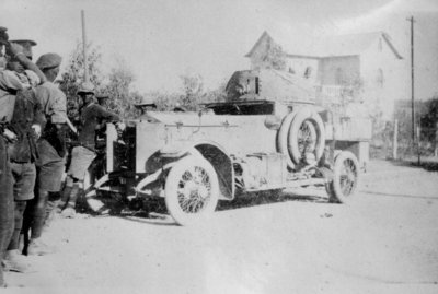 an armoured car at Beersheeba.JPG